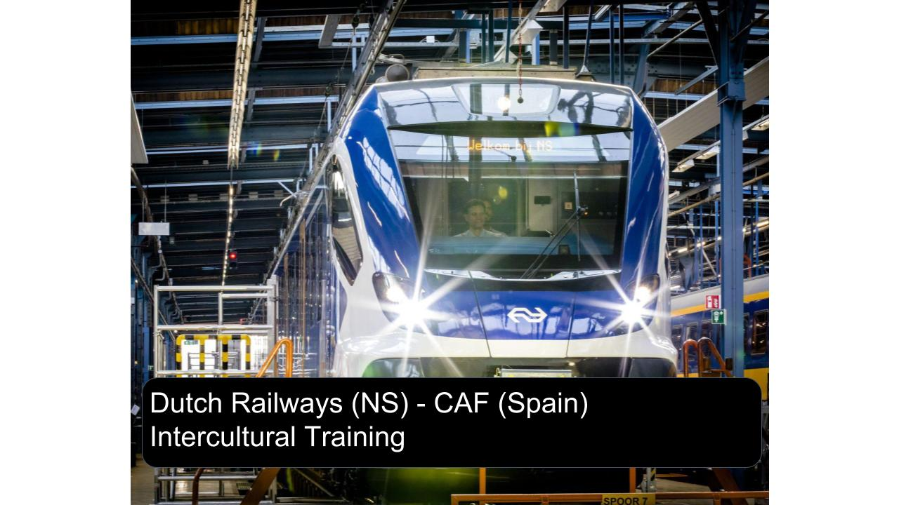 Dutch Railways (NS) - Basque Intercultural Training